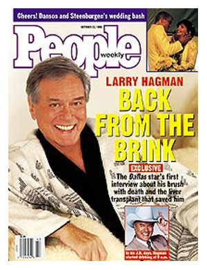 Larry Hagman People magazine