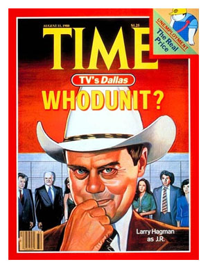 Larry Hagman Time Magazine